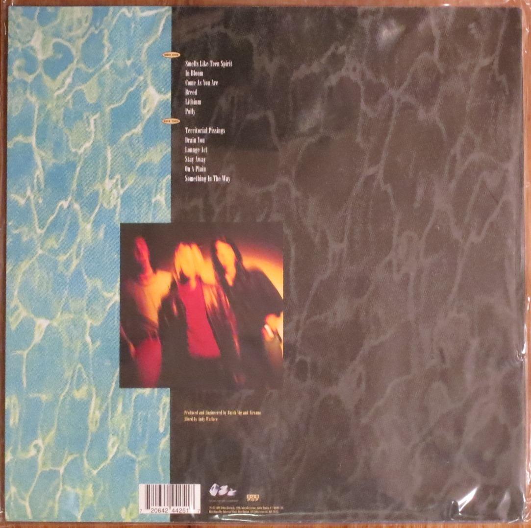 Nirvana Nevermind Remastered Back To Black 180gm Vinyl Lp