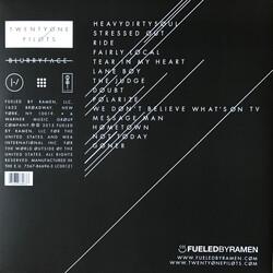 Twenty One Pilots Blurryface Limited White Black Splatter