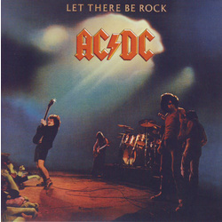 AC/DC Let There Be Rock US pressing remastered 180gm vinyl LP