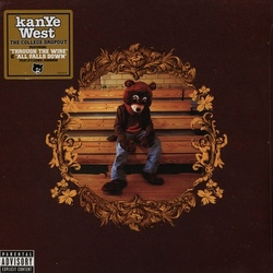 Kanye West College Dropout vinyl LP brown cover