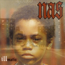 Nas Illmatic vinyl LP with printed inner sleeve