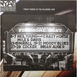 Neil Young & Crazy Horse Live At The Fillmore East 180Gm Gatefold vinyl LP