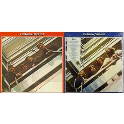 The Beatles Red 1962-66 & Blue 1967-70 2 x 180gm double LPs gatefold sleeves