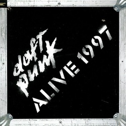 Daft Punk Alive 1997 limited 180gm vinyl LP