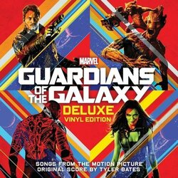 Guardians Of The Galaxy soundtrack vinyl 2 LP + Awesome Mix V1