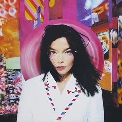 Bjork Post limited edition PINK coloured vinyl LP + download