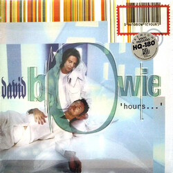 David Bowie Hours Friday Music limited 180gm BLUE vinyl LP trifold sleeve