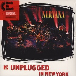 Nirvana MTV Unplugged In New York vinyl 180gm LP +download