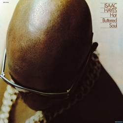 Isaac Hayes Hot Buttered Soul Reissue vinyl LP