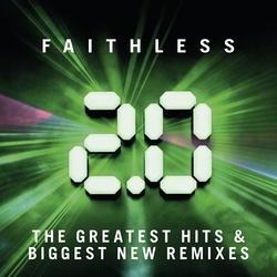 Faithless Faithless 2.0 Hits & Remixes vinyl 2 LP gatefold sleeve