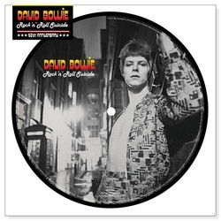 David Bowie Rock 'N' Roll Suicide RSD limited edition picture disc vinyl 7""
