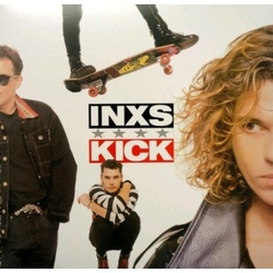 Inxs Kick limited edition Back To Black RED vinyl LP in gatefold sleeve download