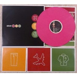 "Blink-182 Take Off Your Pants And Jacket limited PINK vinyl LP + 3 x black 7"" set"