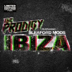 The Prodigy Ibiza RSD limited edition glow in the dark 7""