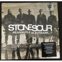 Stone Sour Meanwhile In Burbank RSD white splatter coloured LP