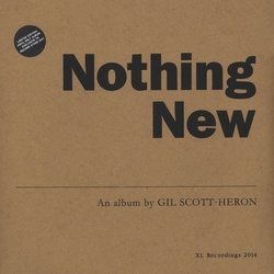 Gil Scott-Heron Nothing New RSD 2014 exclusive limited vinyl LP