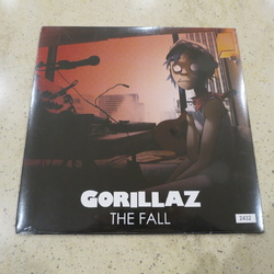 Gorillaz The Fall limited 2011 edition numbered vinyl LP