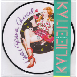 "Kylie Minogue I Was Gonna Cancel limited edition picture disc vinyl 7"" NEW"