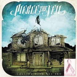 Pierce The Veil Collide With The Sky limited edition PINK vinyl LP