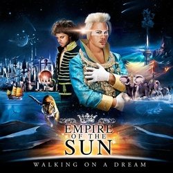 Empire Of The Sun Walking On A Dream limited clear blue vinyl LP