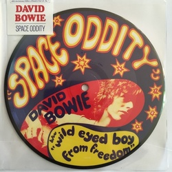 "David Bowie Space Oddity 40th anniversary limited edition 7"" picture disc"