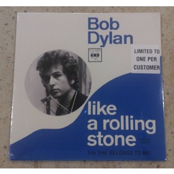 "Bob Dylan Like A Rolling Stone HMV exclusive limited 7"" single"