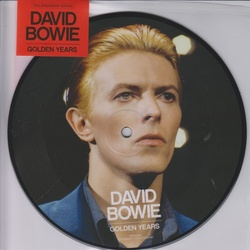 "David Bowie Golden Years 40th anniversary 7"" vinyl picture disc"