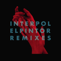 "Interpol El Pintor Remixes RSD limited edition clear vinyl 12"" + download"