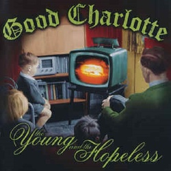 Good Charlotte The Young And The Hopeless green/black splatter vinyl LP