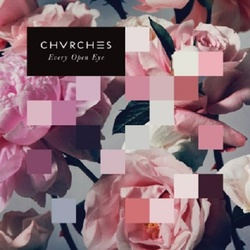 Chvrches Every Open Eye limited edition 180gm PINK vinyl LP gatefold