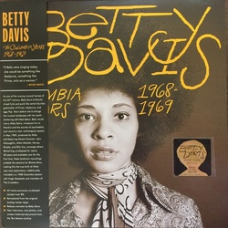 Betty Davis The Columbia Years 1968-1969 limited deluxe GOLD vinyl LP +poster