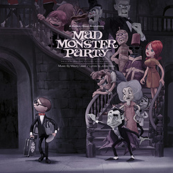 Mad Monster Party soundtrack limited 180gm PURPLE / PEA GREEN swirl vinyl LP g/f