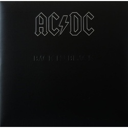 AC/DC Back In Black Remastered 180gm vinyl LP in embossed sleeve