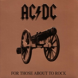 AC/DC For Those About To Rock remastered 180gm vinyl  LP