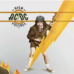 AC/DC High Voltage EU issue vinyl LP