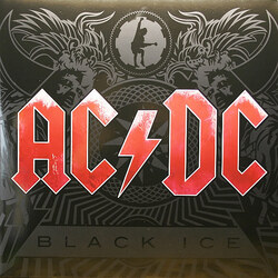 AC/DC Black Ice 180gm vinyl 2 LP gatefold sleeve