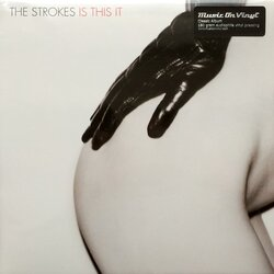 Strokes Is This It Reissue Black Vinyl Lp Gatefold For