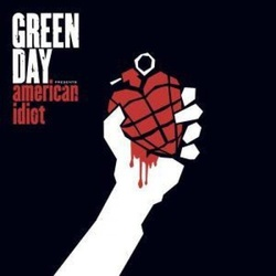 Green Day American Idiot limited RED/BLACK & WHITE/BLACK vinyl 2 LP