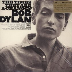 Bob Dylan Times They Are A Changin' remastered reissue Mono 180gm vinyl LP