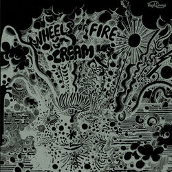 Cream Wheels Of Fire limited edition vinyl LP