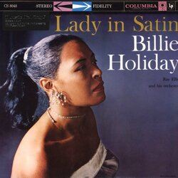 Billie Holiday Lady In Satin Reissue Stereo 180gm vinyl LP