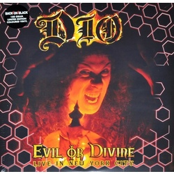 Dio Evil Or Divine Live In NYC 180gm coloured vinyl 2LP