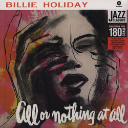 Billie Holiday All Or Nothing At All High Quality Reissue vinyl LP
