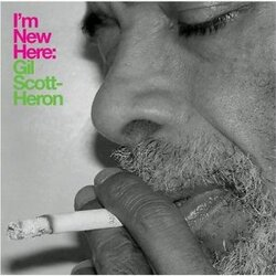 Gil Scott-Heron I'm New Here 180gm vinyl LP + download, gatefold