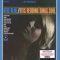 Otis Redding Otis Blue limited edition 180gm BLUE vinyl LP