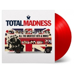 Madness Total Madness MOV limited #d 180gm RED vinyl 2 LP