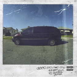 Kendrick Lamar Good Kid M.A.A.D. City deluxe edition EU vinyl 2 LP