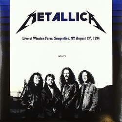 Metallica Live At Winston Farm NY 1994 180gm vinyl 2 LP