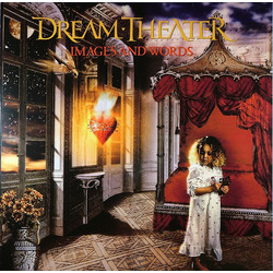 Dream Theater Images And Words MOV #d 180gm GOLD/RED vinyl LP