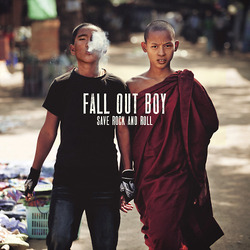 Fall Out Boy Save Rock And Roll vinyl 10""